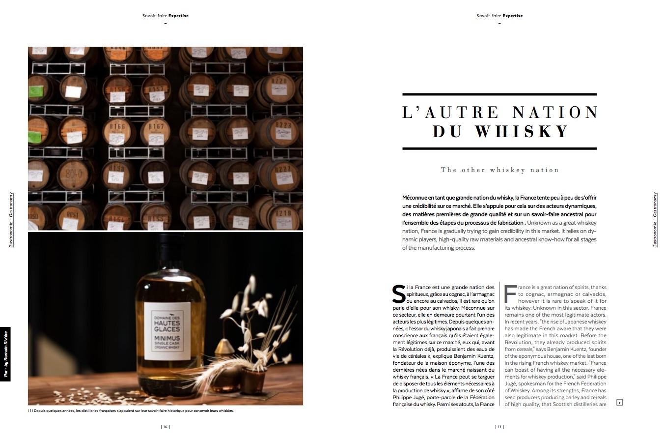 Revue de presse L'Honoré Magazine