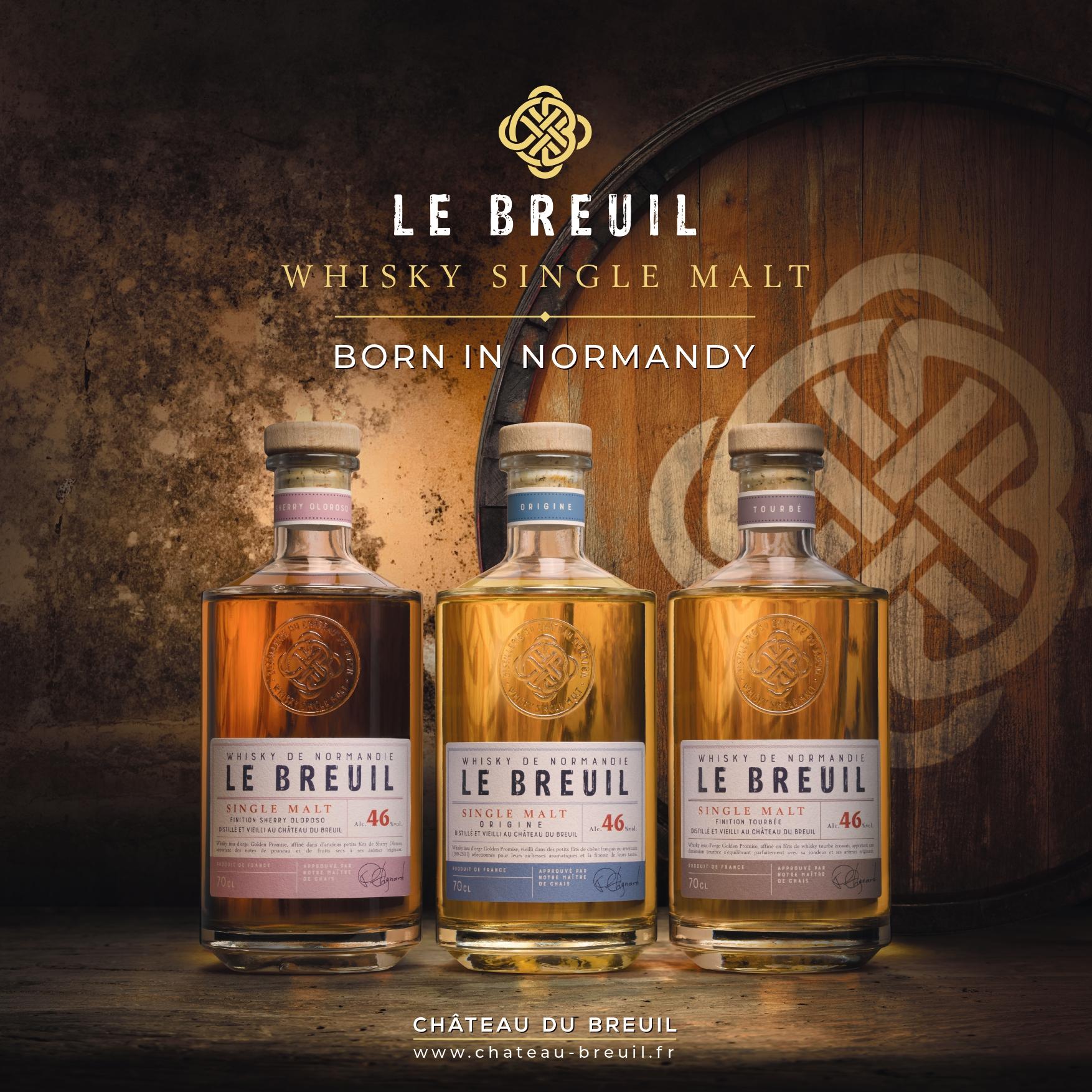 Château du Breuil : et de 3 (whiskies) !